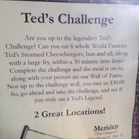 Photo taken at Ted's Restaurant by Lisa B. on 4/23/2014