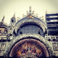 Photo taken at St Mark's Basilica by Ricardo R. on 1/12/2013