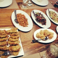 "Photo taken at Abians Resto by The Banjar Bali ""Spa - Culinary - Shop - Culture"" by Geetha S. on 8/16/2013"