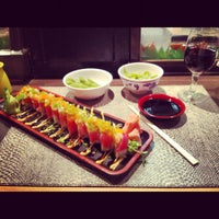 Photo taken at Sapporo Japanese Restaurant by Bailey G. on 11/2/2012