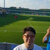 Photo taken at Gwangyang Football Stadium by jeun p. on 6/25/2016