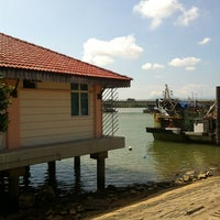 Photo taken at Jeti Kuala Besut (Jetty) by Mohd Rozalli A. on 3/23/2013