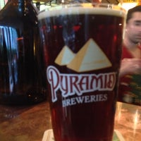 Photo taken at Pyramid Alehouse Brewery by Ken P. on 11/2/2012