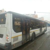 "Photo taken at Остановка ""Проспект Космонавтов"" by Ларион А. on 3/21/2017"