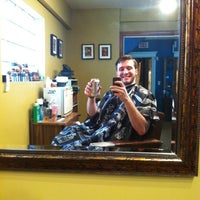 Photo taken at The Barber Sharp by James Alex G. on 5/13/2014