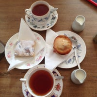 Photo taken at Mhor Bread Bakery & Tea Room by Kexin S. on 9/3/2014