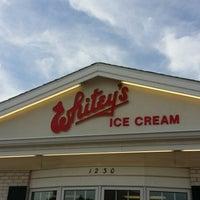 Photo taken at Whitey's Ice Cream by Lisa C. on 6/12/2014