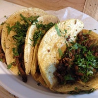 Photo taken at Tacos El Cunado at Downtown Market by Nick P. on 9/28/2013
