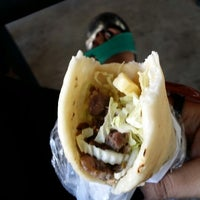 Photo taken at Magboul Shawarma by Maan E. on 11/27/2013