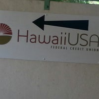 Photo taken at Hawaii USA Federal Credit Union by Bonny G. on 8/22/2013