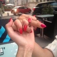 Photo taken at Grand Café Galleron by Iulia B. on 7/29/2014
