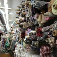 Photo taken at Mood Designer Fabrics by Amy A. on 3/30/2013