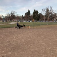Photo taken at Dog Park Near Campus by Cosmo C. on 11/27/2017