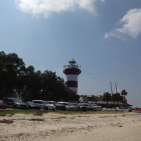 Photo taken at Harbour Town Lighthouse by JMS on 9/2/2013