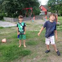 Photo taken at Gullvivan, lekplats by Peter N. on 6/15/2013