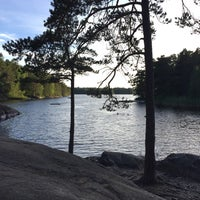 Photo taken at Domaruddens Friluftsgård by Peter N. on 6/28/2016