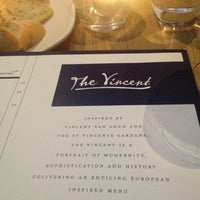 Photo taken at The Vincent by Kate U. on 2/28/2013