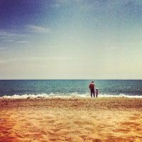 Photo taken at Playa de La Misericordia by Fabio L. on 4/21/2013