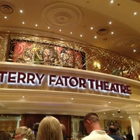 Photo taken at Terry Fator Theatre by Yvonne F. on 5/14/2013