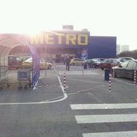 Das Foto wurde bei Metro Cash & Carry von 🌸 Petia K. am 12/23/2012 aufgenommen