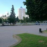 Photo taken at Майдан Свободи by Vadim G. on 7/19/2013