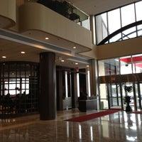 Photo taken at Teaneck Marriott at Glenpointe by Oleg F. on 4/11/2013