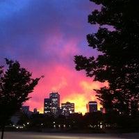 Photo taken at Ogimachi Park by nakazi on 10/18/2012