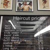 Photo taken at Hermosa Barbershop by Cholatoaloha H. on 11/29/2012