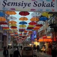 Photo taken at Şemsiyeli Sokak by Birtan K. on 12/8/2014