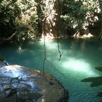 Photo taken at Erawan National Park by Themis S. on 1/5/2013
