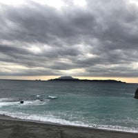 Photo taken at 間々下浦海岸 by Masato K. on 11/28/2016