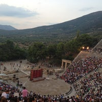 Photo taken at Epidaurus Ancient Theatre by Eva N. on 7/13/2013