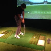Photo taken at GolfZone by Sergey A. on 4/11/2015