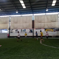 Photo taken at The Hattrick Football Club by ☆*:.。. NangSinG .。.:*☆ on 10/19/2013