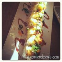 Photo taken at California Roll & Sushi Fish by Natalia C. on 11/4/2012