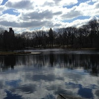 Photo taken at Central Park – Turtle Pond by Cliff P. on 3/22/2013