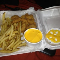 Photo taken at New York Fried Chicken by Heather E. on 2/19/2013