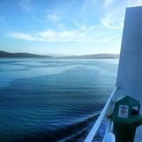 Photo taken at Bluebridge Ferry - Santa Regina by Craig C. on 1/25/2013