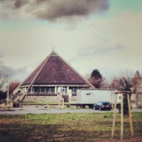 Photo taken at Autobahnkirche Baden-Baden by ENZO N. on 1/10/2014