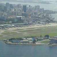 Photo taken at Rio de Janeiro Santos Dumont Airport (SDU) by Henrique J. on 7/17/2013