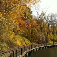 Photo taken at Hawk Island County Park by CW B. on 10/20/2012