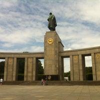 6/16/2013 tarihinde CW B.ziyaretçi tarafından Sowjetisches Ehrenmal Tiergarten'de çekilen fotoğraf
