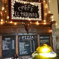 Photo taken at Caffe El Triunfo by Jesus A. on 10/25/2012