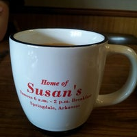 Photo taken at Susan's Restaurant by Mike B. on 2/16/2013