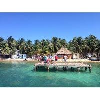 Photo taken at Tobacco Caye Lodge by NasSer M on 4/10/2014