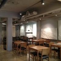 Photo taken at OSULLOC Tea House by Eunju P. on 1/24/2013
