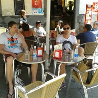 Photo taken at Cafeteria Tiptop by Gertjan D. on 7/8/2013