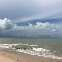 Photo taken at Nam Rin Beach by นิว' น. on 5/24/2017