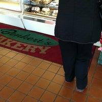 Photo taken at Benkert's Bakery by Pedro P. on 1/18/2014
