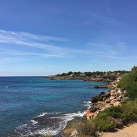 Photo taken at Cala Forn by johannsen M. on 7/14/2016